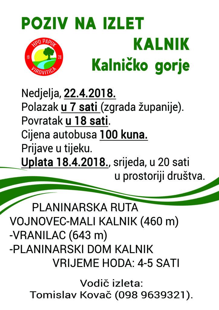 Kalnik 2018